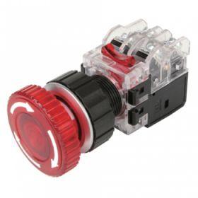 công tắc khẩn có đèn màu đxanh MRA-AM1A3G