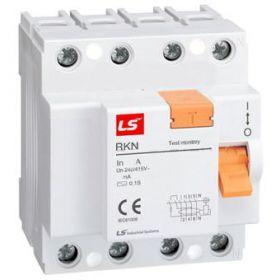 RCCB (chống rò điện) RKN3P+N-25A, 10KA