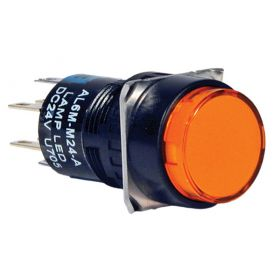 Đèn báo, loại tròn, màu đỏ AL6M-P4RC