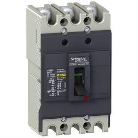 MCCB dòng EasyPact 100 kiểu H Schneider EZC100H3060