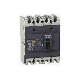 MCCB tích hợp thiết bị chống rò điện dòng EasePact EZCV250 kiểu H Schneider EZCV250H4160